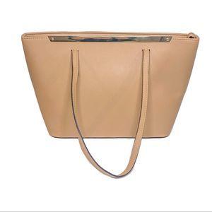 """Aldo Large Satchel Bag/Tote bag - Pale Pink 12""""X9"""""""